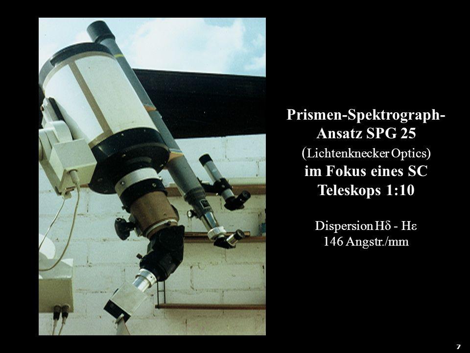 Prismen-Spektrograph-