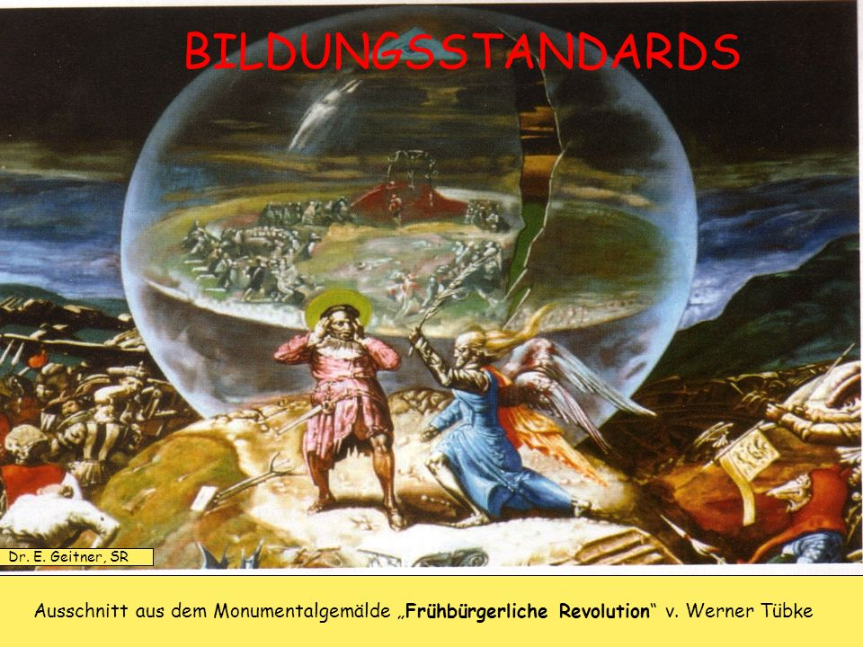 BILDUNGSSTANDARDS Dr. E. Geitner, SR.