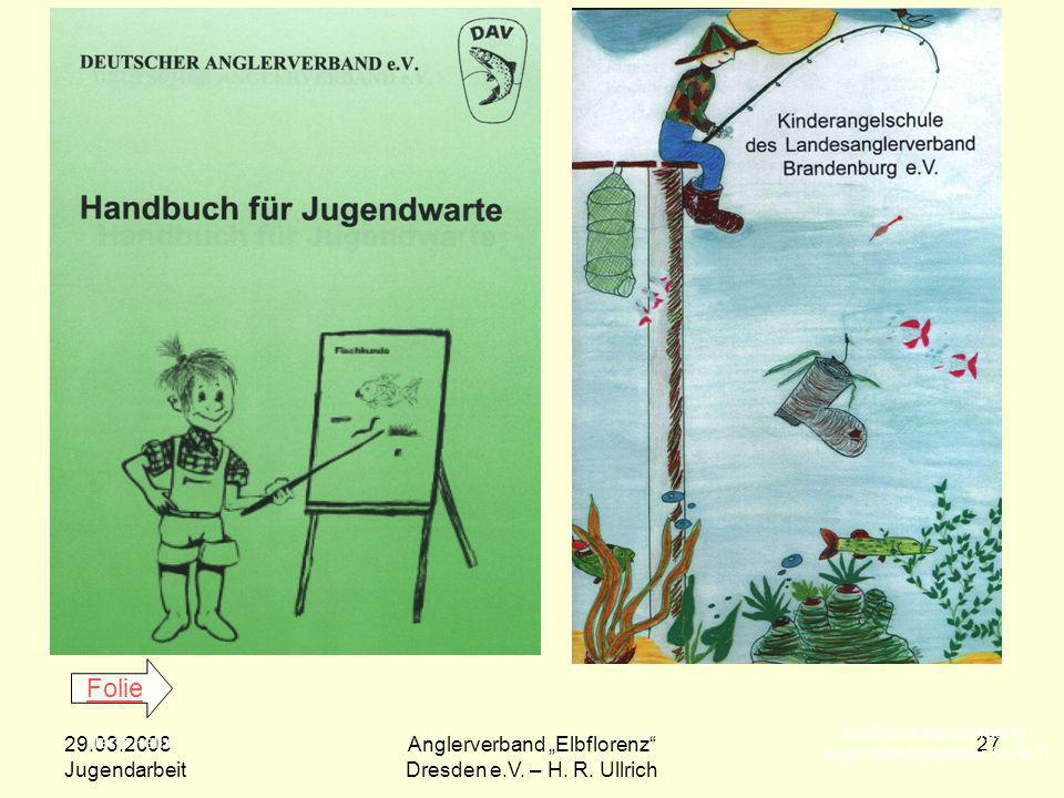 Folie Qualifizierungslehrgang. -Jugendgruppenleiter Stufe I 29.03.2008. Jugendarbeit. Jens Felix.