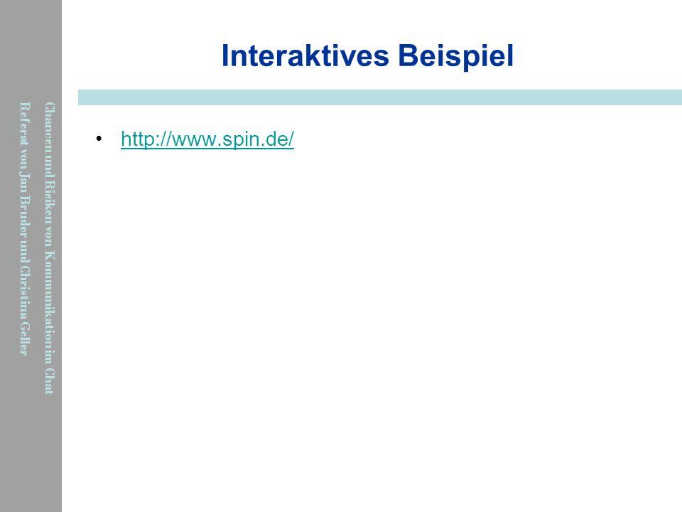 Interaktives Beispiel