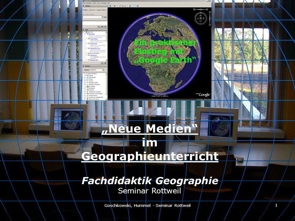 Geographieunterricht Fachdidaktik Geographie