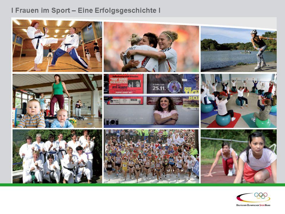 I Frauen im Sport – Eine Erfolgsgeschichte l