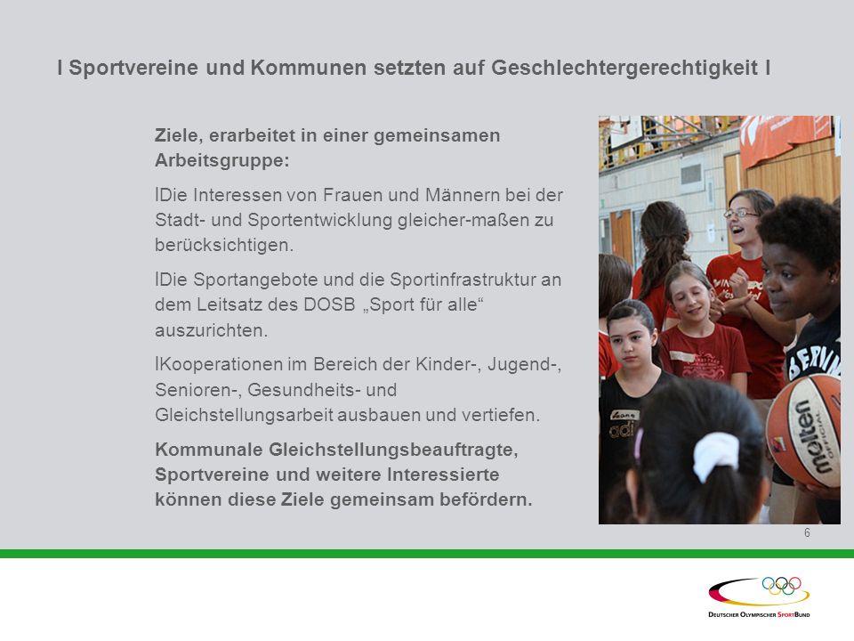 I Sportvereine und Kommunen setzten auf Geschlechtergerechtigkeit l