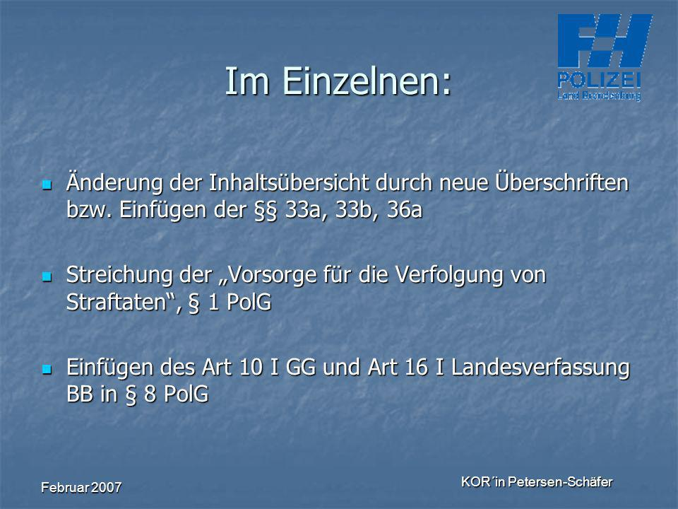 KOR´in Petersen-Schäfer
