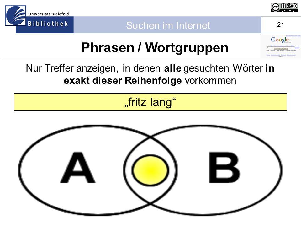 """Phrasen / Wortgruppen """"fritz lang"""