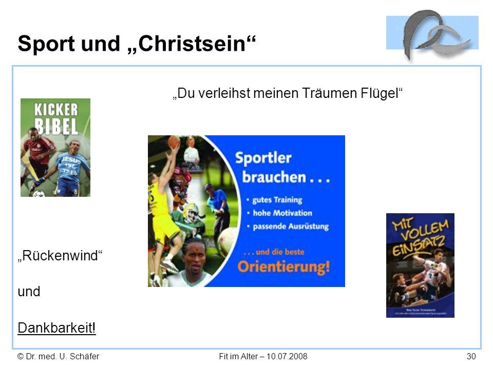 """Sport und """"Christsein"""