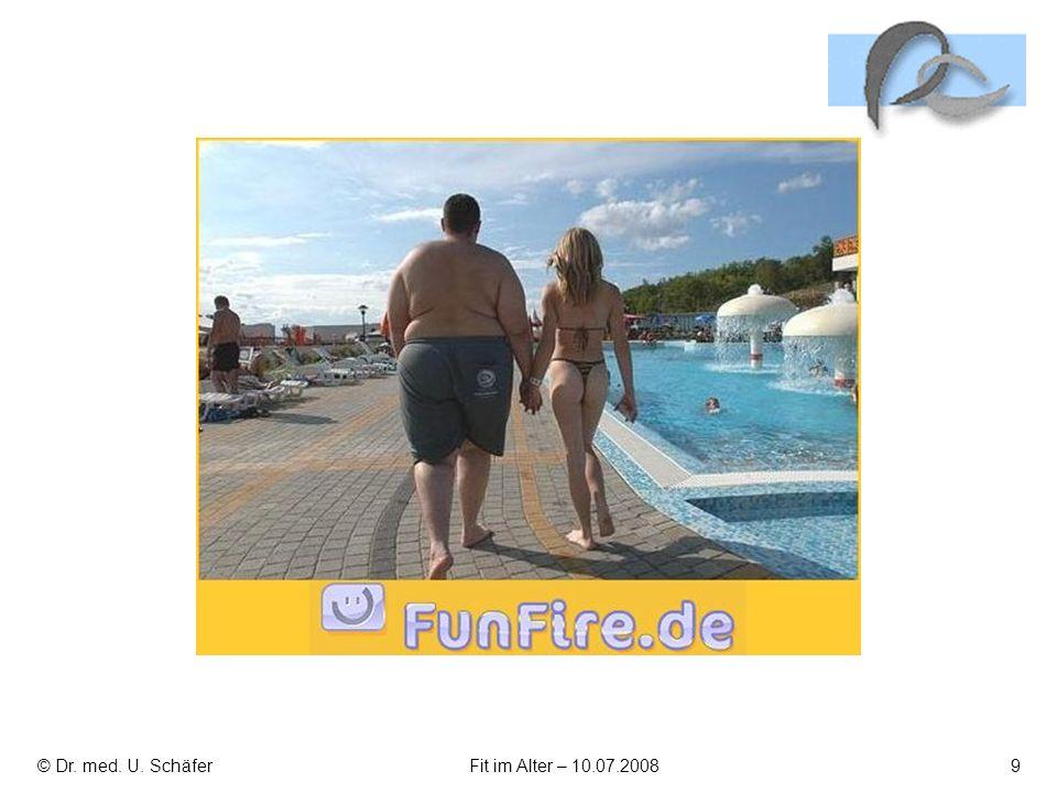 © Dr. med. U. Schäfer Fit im Alter – 10.07.2008