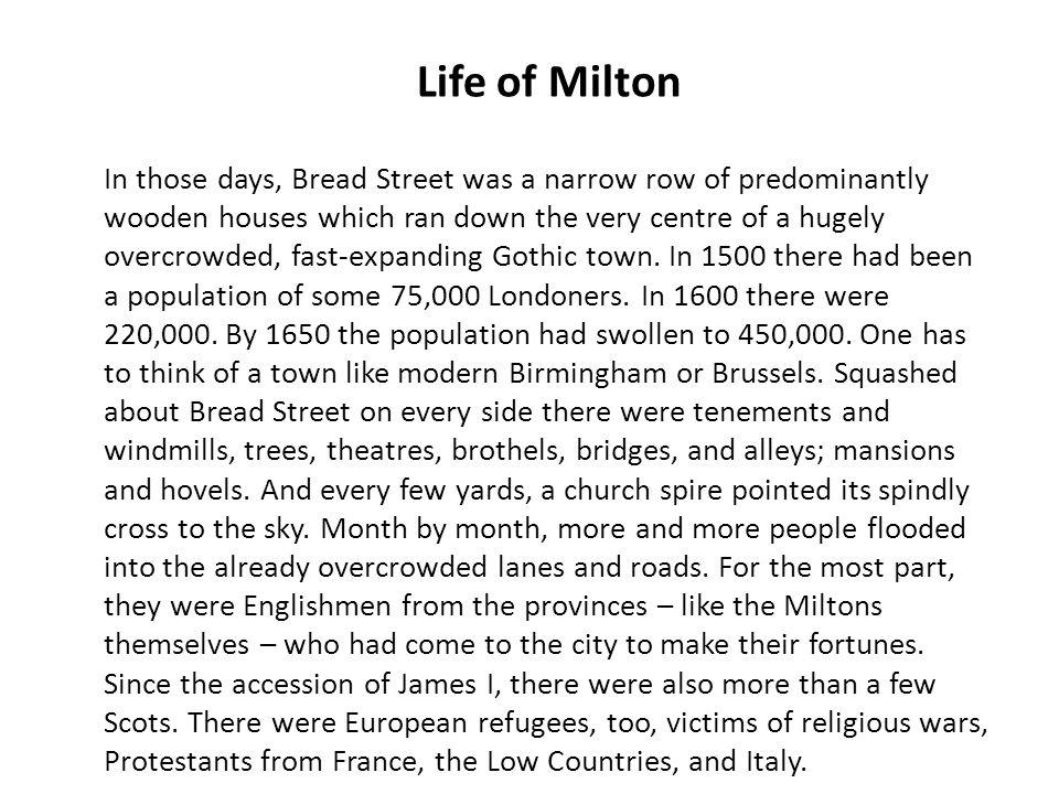 Life of Milton