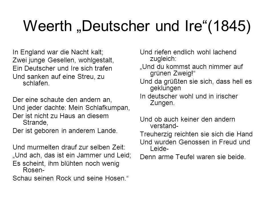"""Weerth """"Deutscher und Ire (1845)"""