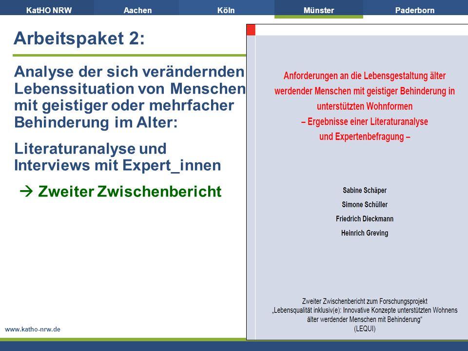 Literaturanalyse und Interviews mit Expert_innen