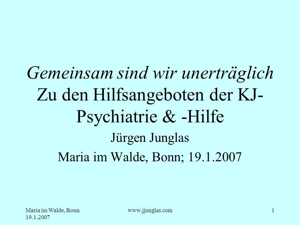 Jürgen Junglas Maria im Walde, Bonn; 19.1.2007