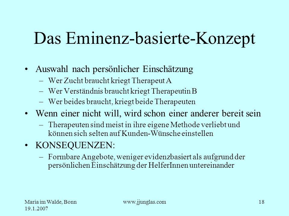 Das Eminenz-basierte-Konzept