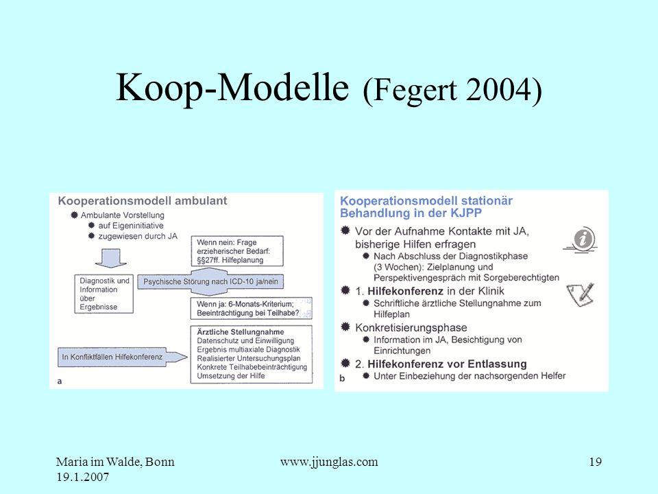 Koop-Modelle (Fegert 2004)