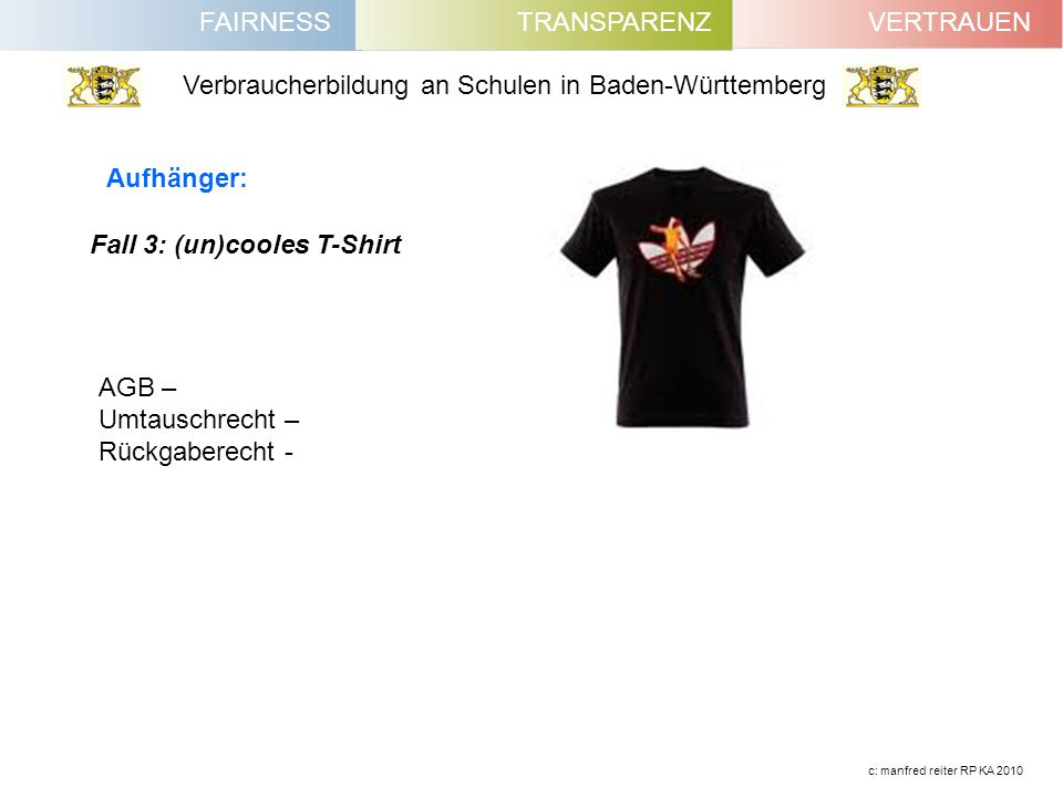 Fall 3: (un)cooles T-Shirt