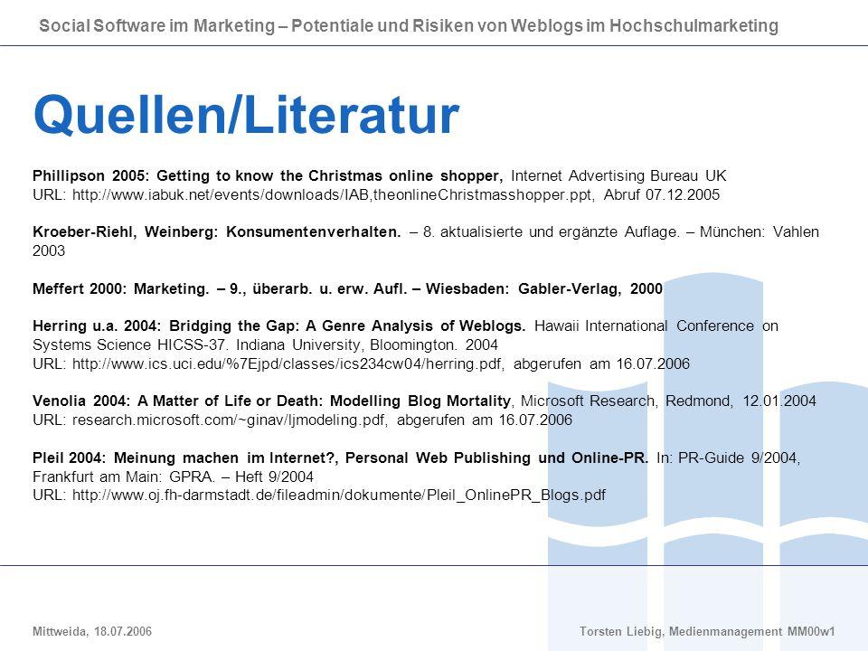 Quellen/Literatur