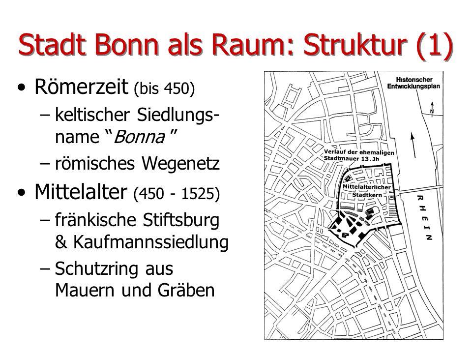 Stadt Bonn als Raum: Struktur (1)