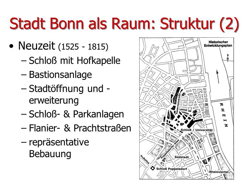 Stadt Bonn als Raum: Struktur (2)