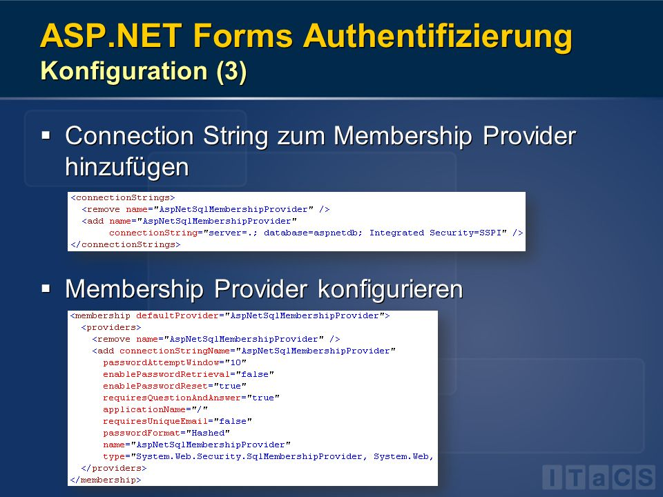 ASP.NET Forms Authentifizierung Konfiguration (3)