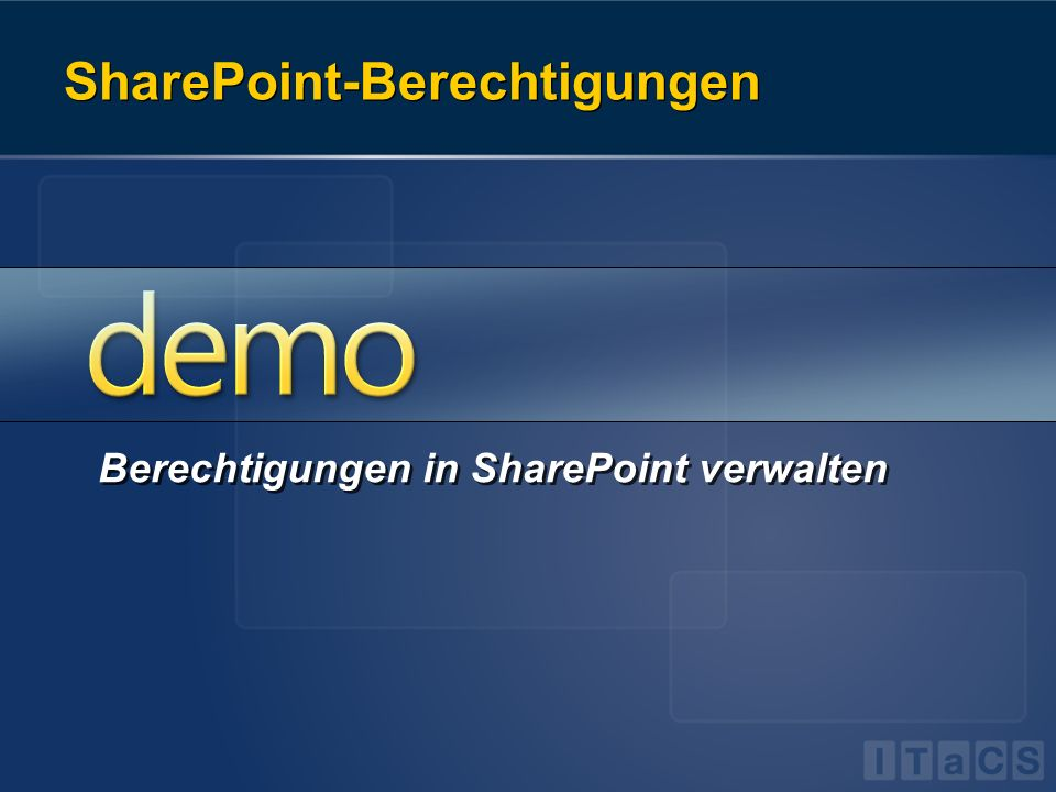 SharePoint-Berechtigungen