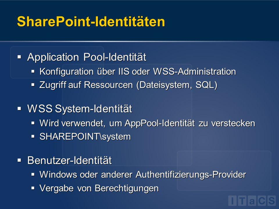 SharePoint-Identitäten