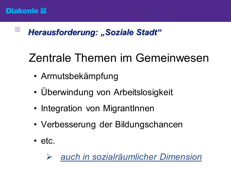 """Herausforderung: """"Soziale Stadt"""