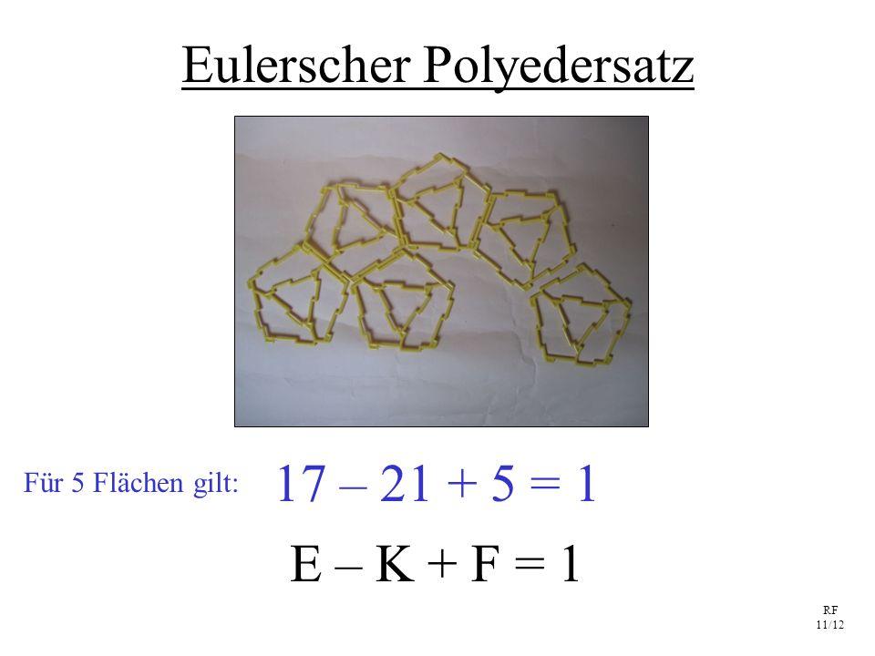 Eulerscher Polyedersatz