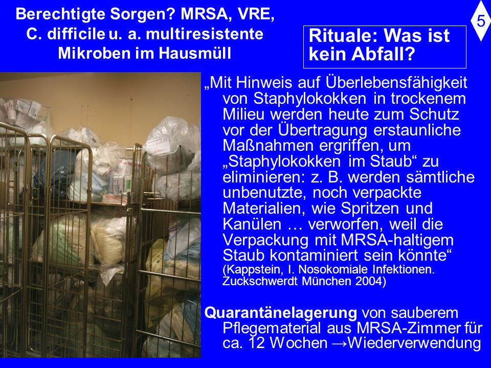 Rituale: Was ist kein Abfall