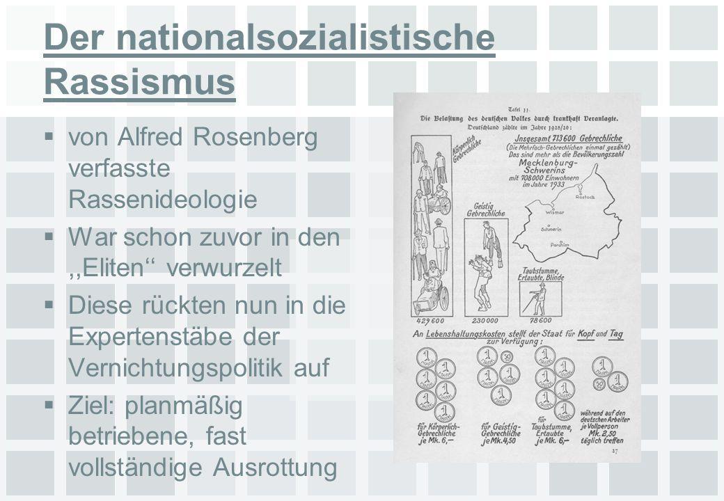 Der nationalsozialistische Rassismus