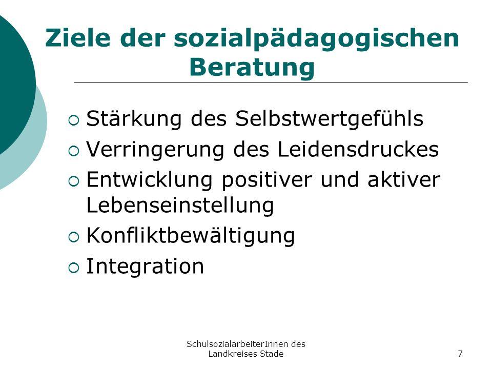 Ziele der sozialpädagogischen Beratung