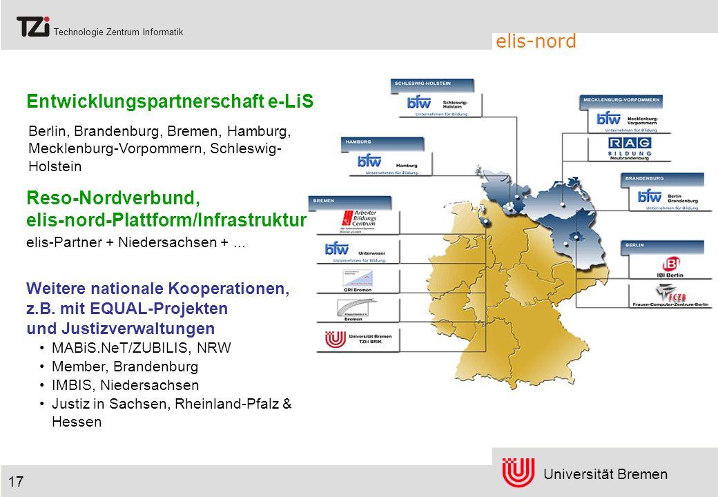 Entwicklungspartnerschaft e-LiS