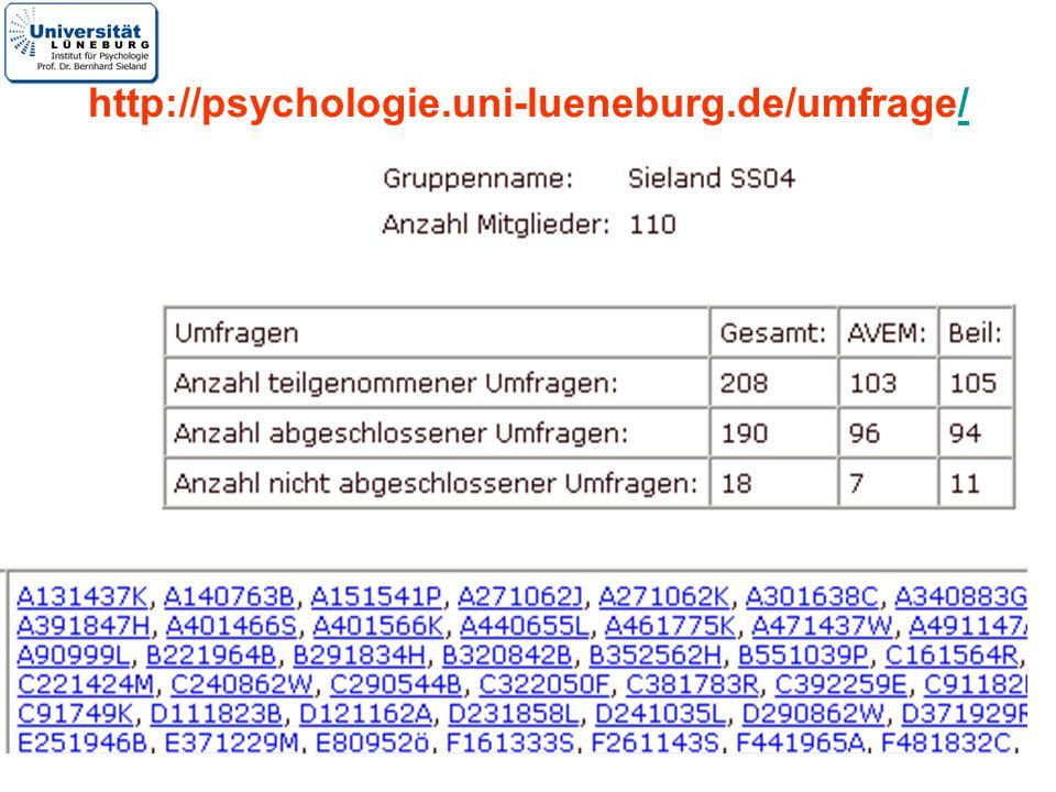 http://psychologie.uni-lueneburg.de/umfrage/
