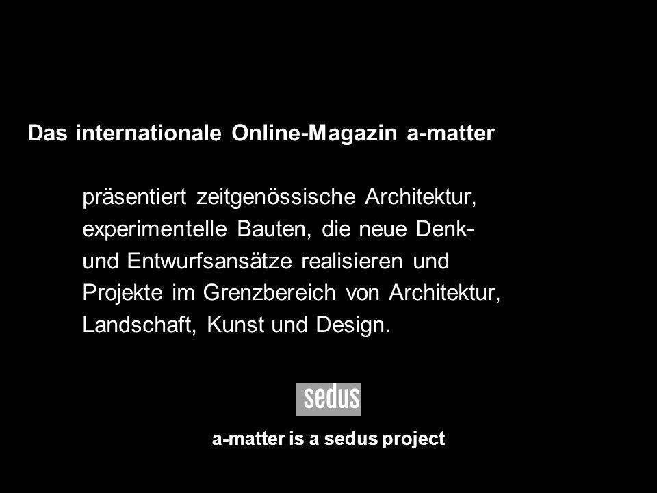 a-matter is a sedus project