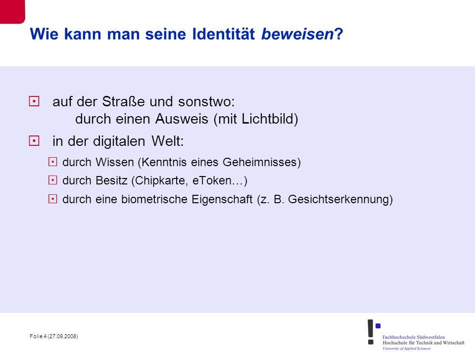 Wie kann man seine Identität beweisen