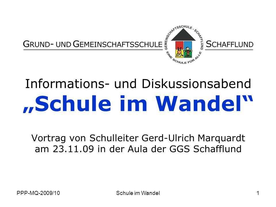 """""""Schule im Wandel Informations- und Diskussionsabend"""