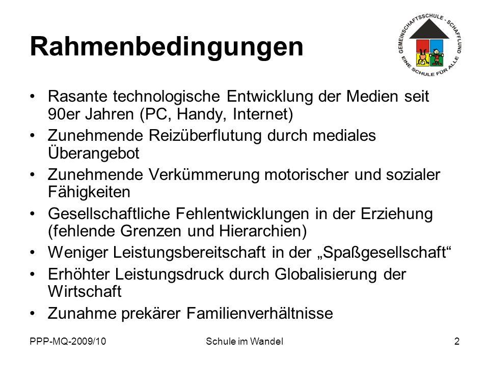 Rahmenbedingungen Rasante technologische Entwicklung der Medien seit 90er Jahren (PC, Handy, Internet)