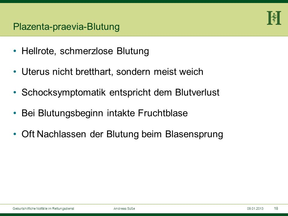 Plazenta-praevia-Blutung