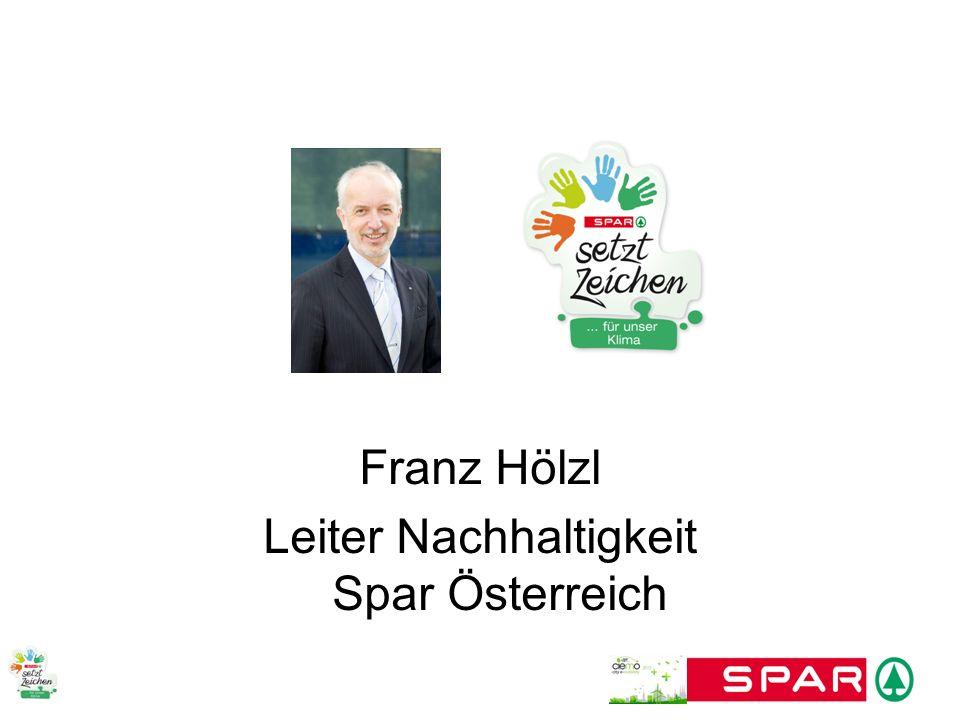 Leiter Nachhaltigkeit Spar Österreich