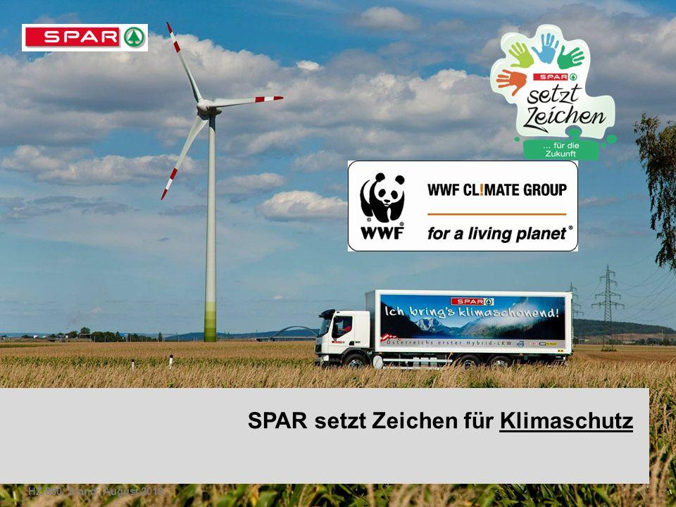 SPAR setzt Zeichen für Klimaschutz