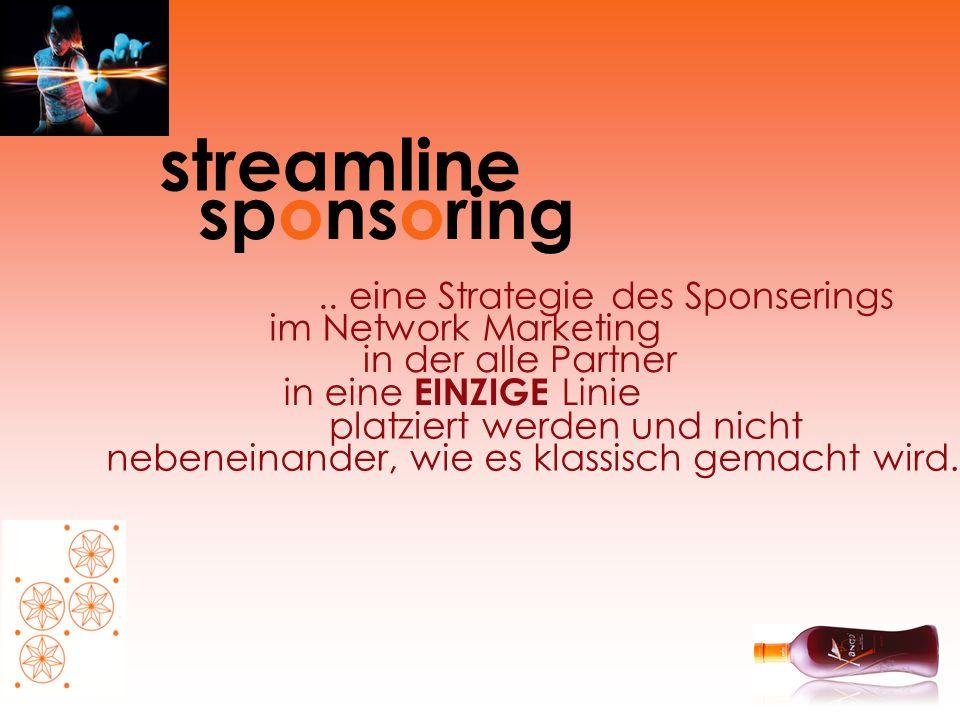 streamline sponsoring .. eine Strategie des Sponserings