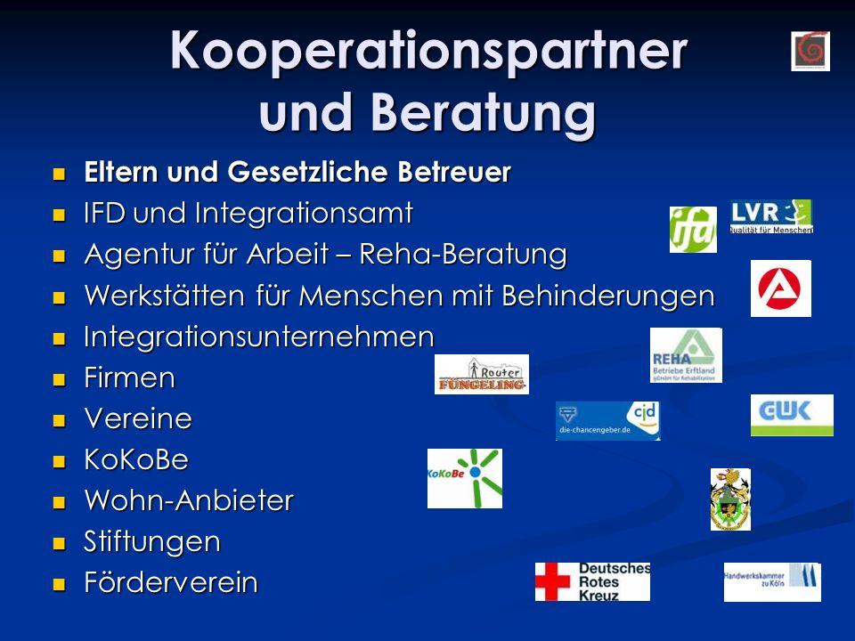 Kooperationspartner und Beratung