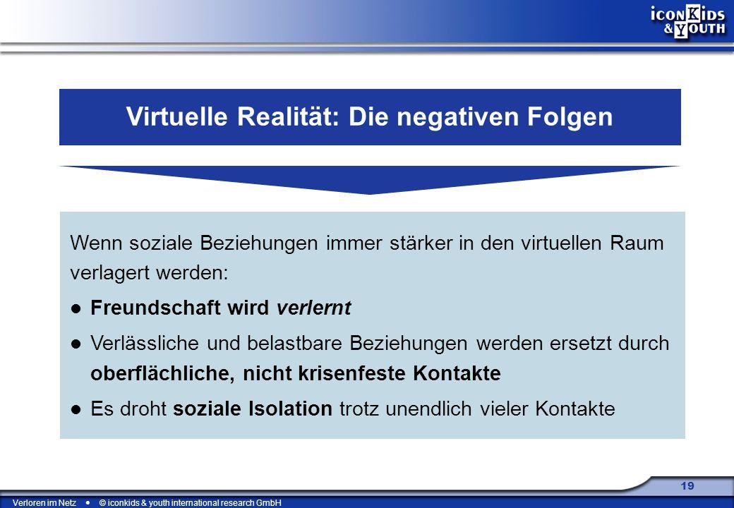 Virtuelle Realität: Die negativen Folgen