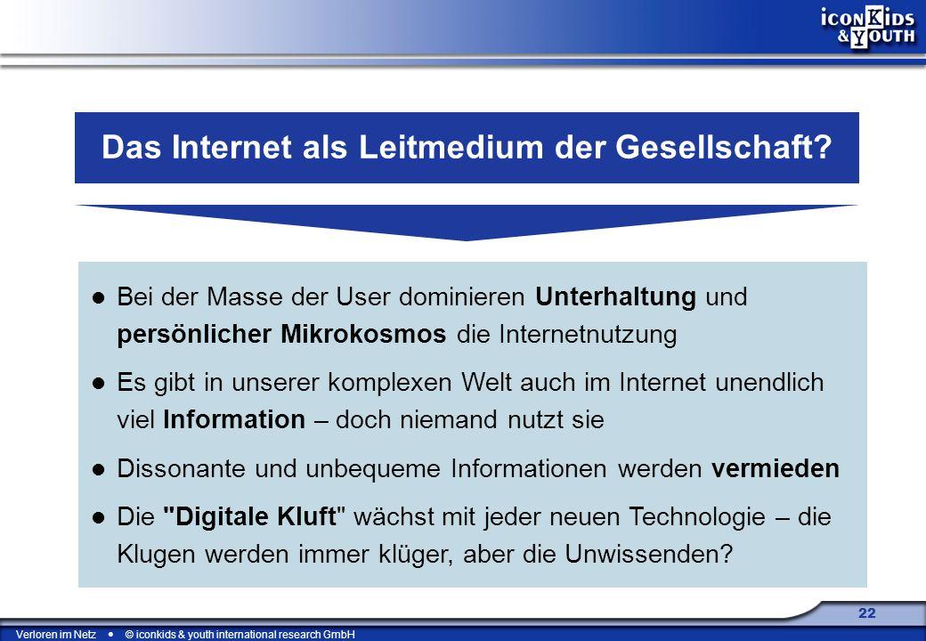 Das Internet als Leitmedium der Gesellschaft