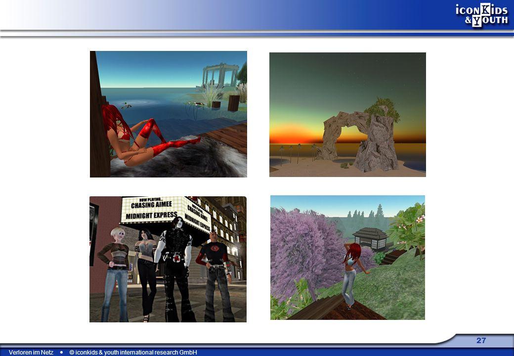 Second Life scheitert daran, dass es weder die unmittelbare Relevanz einer virtuellen Repräsentation der realen Welt ist, noch bietet es die Faszination und das Game Play der virtuellen Welten wie WOW