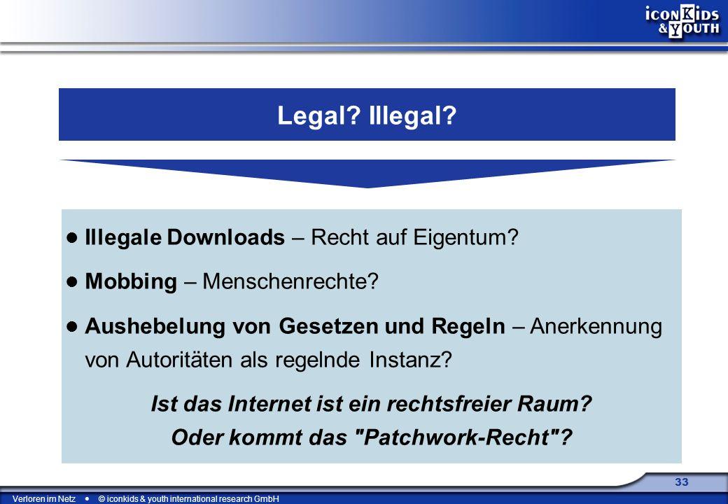 Legal Illegal Illegale Downloads – Recht auf Eigentum