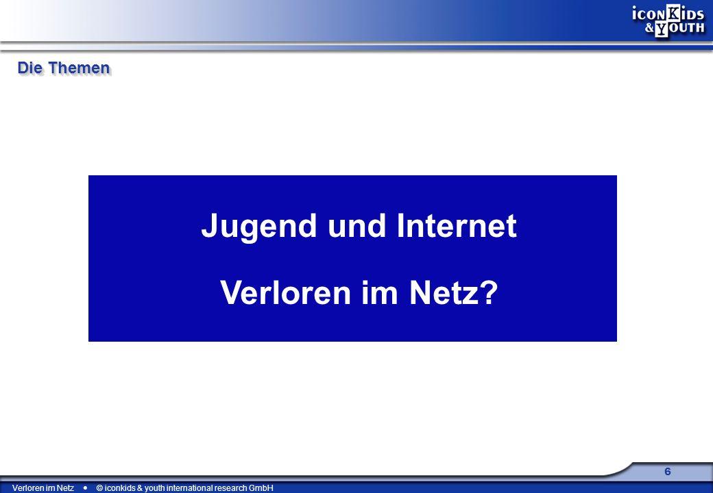 Jugend und Internet Verloren im Netz