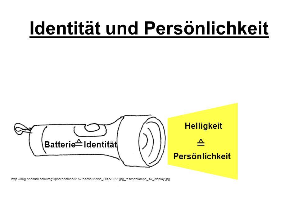 Identität und Persönlichkeit