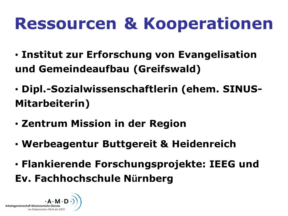 Ressourcen & Kooperationen