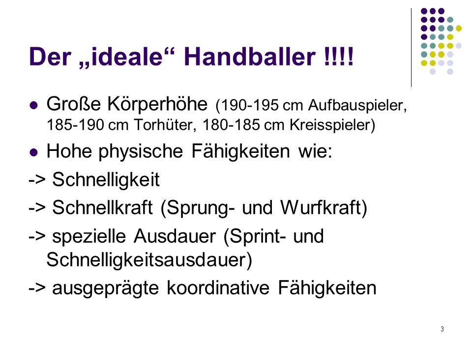 """Der """"ideale Handballer !!!!"""