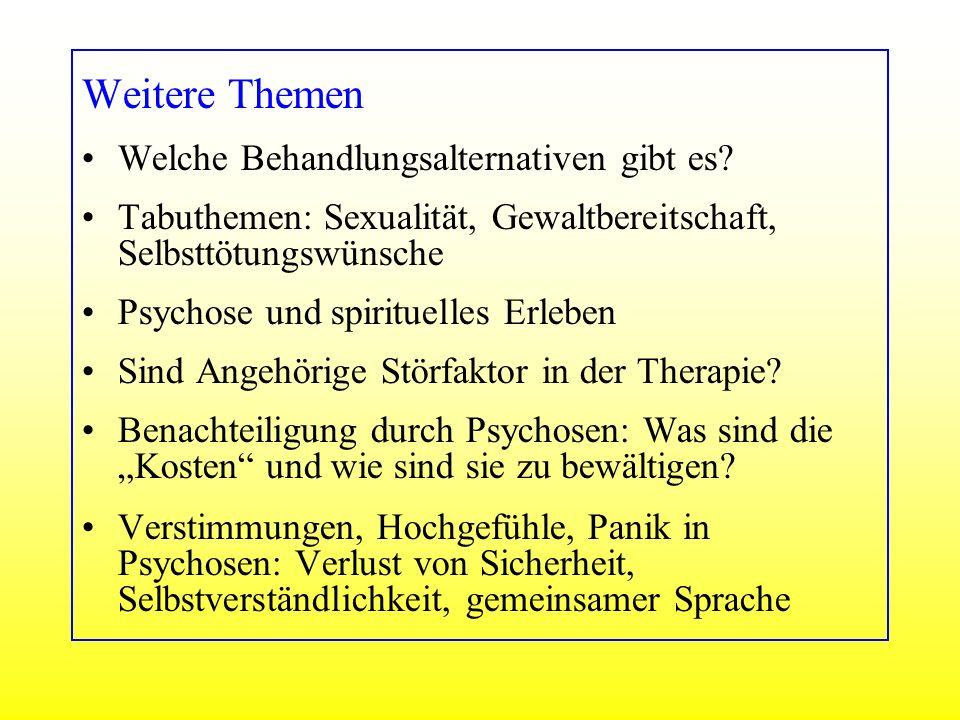 Weitere Themen Welche Behandlungsalternativen gibt es