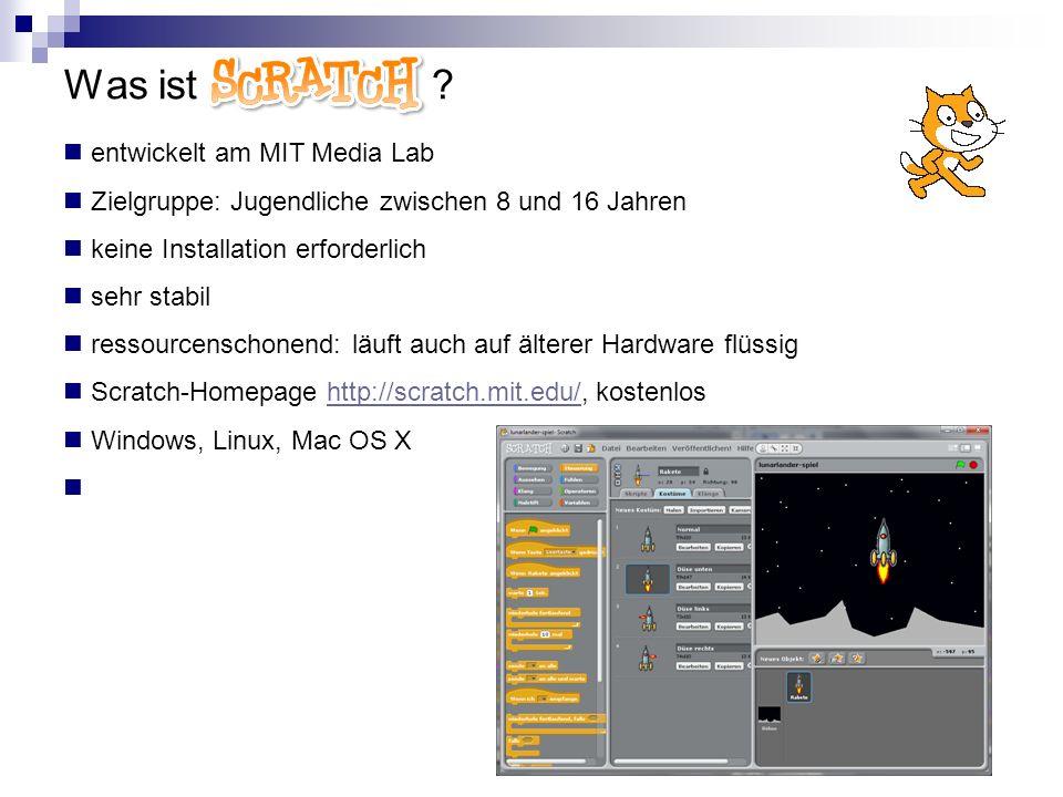 Was ist Scratch entwickelt am MIT Media Lab